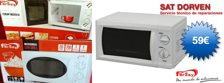 microondas grill fersay