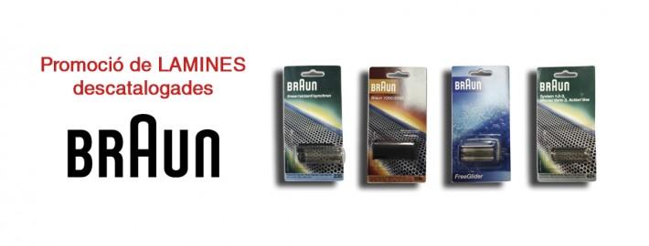 Promoció làmines Braun