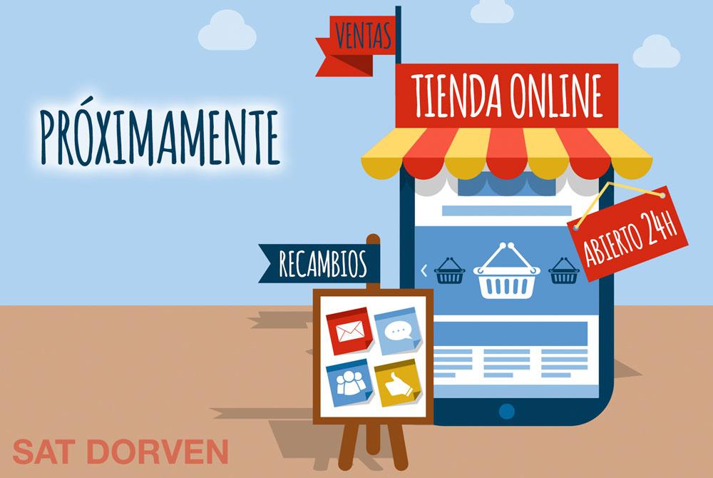 Proximamente tienda online
